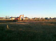 Фотофакт. В Бирюсинске начато строительство школы №10