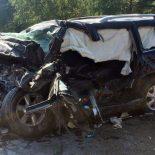 В ДТП на федеральной трассе в Тайшетском районе после столкновения с фурой погиб водитель Лексуса (видео)