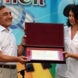 Директора Бирюсинской школы Александра Христича наградили за вклад в развитие образования