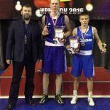 Трое тайшетцев красиво выступили на первенстве Сибири по боксу