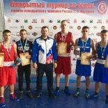 Тайшетские боксёры привезли из Иркутска три золотые медали
