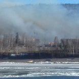 В Иркутской области сгорела целая деревня — 86 домов