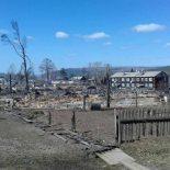 МЧСники нашли новую причину пожара в уничтоженной огнём деревне Бубновка