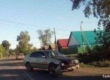 В «старом городе» столкнулись два автомобиля