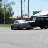 Фотофакт. На самом вредном в Тайшете перекрёстке УАЗик врезался в Тойоту