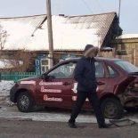 В Тайшете машина автошколы попала в ДТП