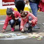 День защиты детей в Бирюсинске. Фоторепортаж