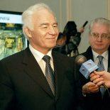 Бывший начальник Тайшетского отделения ВСЖД, а впоследствии министр путей сообщения Г.М. Фадеев отпраздновал 80-летие!