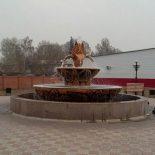 В центре Тайшета запустили фонтан