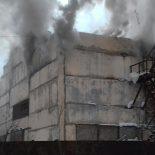 На лесозаготовительном предприятии «Байкаллес» сгорела бытовка