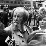 Фотофакт. 22 года назад Александр Солженицын побывал в Тайшете