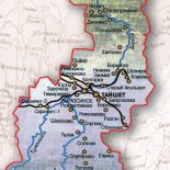 О месте шиткинско-тайшетских земель на карте Восточной Сибири