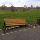 В Тайшете разгромили новую скамейку на площади