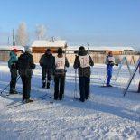 В Бирюсинске прошли лыжные гонки