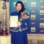 Алёна Михеенко за песню «Ой, то не вечер» получила в Иркутске диплом III степени