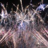 Новогодняя ночь в центре Иркутска. Фоторепортаж