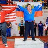 Бирюсинский спортсмен Никита Лесковец вырвал победу на первенстве мира по пауэрлифтингу в США