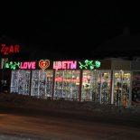 В Тайшете запахло новогодним настроением. Вечерний фоторепортаж