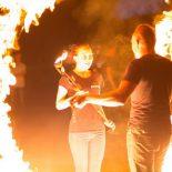 Как приручить стихию: огненное шоу набирает популярность в Тайшете