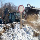 В Тайшетском районе закрыли ледовую переправу через реку Чуну