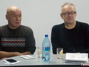 Жители Тайшета повстречались с двумя писателями из Иркутска