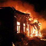 В Нижнеудинске на пожаре погибли четыре человека