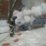 Из-за замыкания проводки с начала года в Иркутской области сгорели 176 автомобилей