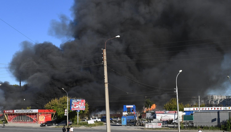 «Огненный гриб»: ВРФ нагазовой заправке произошел взрыв— есть пострадавшие